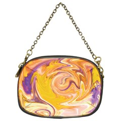 Yellow Marble Chain Purses (one Side)