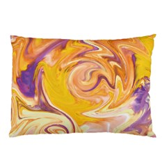 Yellow Marble Pillow Case