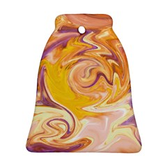 Yellow Marble Ornament (bell)
