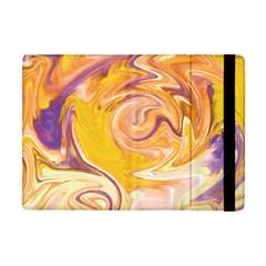 Yellow Marble Apple iPad Mini Flip Case