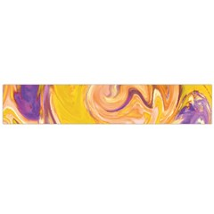 Yellow Marble Flano Scarf (Large)