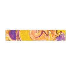 Yellow Marble Flano Scarf (Mini)