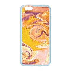 Yellow Marble Apple Seamless iPhone 6/6S Case (Color)