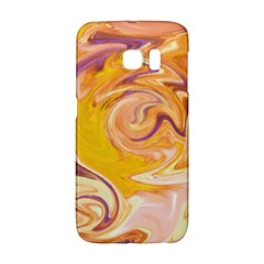 Yellow Marble Galaxy S6 Edge
