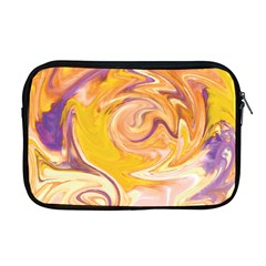 Yellow Marble Apple Macbook Pro 17  Zipper Case