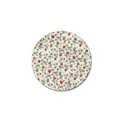 Strawberry pattern Golf Ball Marker (4 pack)
