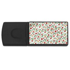 Strawberry pattern USB Flash Drive Rectangular (4 GB)