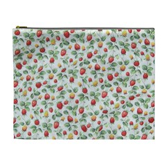 Strawberry pattern Cosmetic Bag (XL)