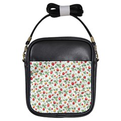 Strawberry pattern Girls Sling Bags