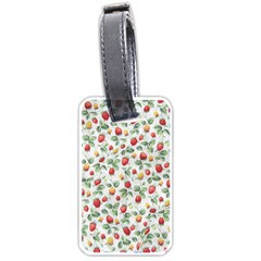 Strawberry pattern Luggage Tags (One Side)
