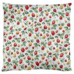 Strawberry pattern Large Cushion Case (One Side)