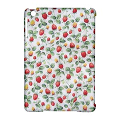 Strawberry pattern Apple iPad Mini Hardshell Case (Compatible with Smart Cover)