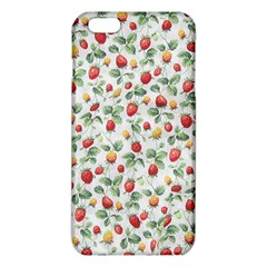 Strawberry Pattern Iphone 6 Plus/6s Plus Tpu Case