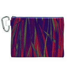 Pattern Canvas Cosmetic Bag (XL)