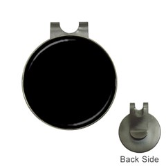 Black Hat Clips with Golf Markers