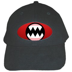 Funny Angry Black Cap