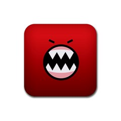 Funny Angry Rubber Coaster (Square)