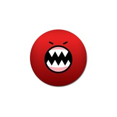 Funny Angry Golf Ball Marker (4 pack)