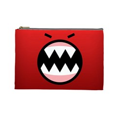 Funny Angry Cosmetic Bag (Large)