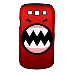 Funny Angry Samsung Galaxy S III Classic Hardshell Case (PC+Silicone)