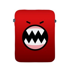 Funny Angry Apple iPad 2/3/4 Protective Soft Cases