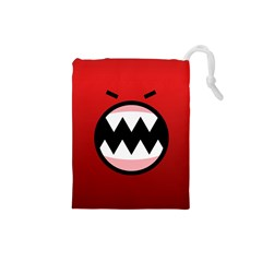 Funny Angry Drawstring Pouches (Small)