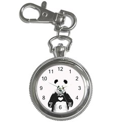 Panda Love Heart Key Chain Watches