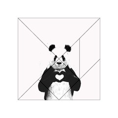 Panda Love Heart Acrylic Tangram Puzzle (4  x 4 )