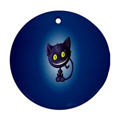 Cats Funny Ornament (Round)