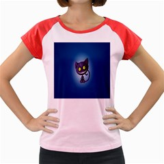 Cats Funny Women s Cap Sleeve T-Shirt