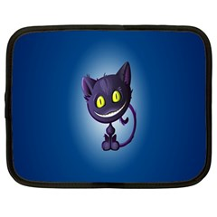 Cats Funny Netbook Case (Large)
