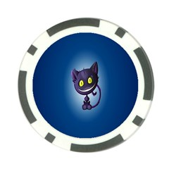 Cats Funny Poker Chip Card Guard (10 pack)