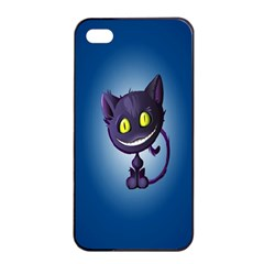 Cats Funny Apple iPhone 4/4s Seamless Case (Black)