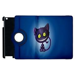 Cats Funny Apple iPad 3/4 Flip 360 Case