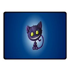 Cats Funny Double Sided Fleece Blanket (Small)