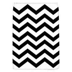 Black And White Chevron Flap Covers (L)