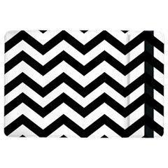 Black And White Chevron iPad Air 2 Flip