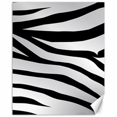 White Tiger Skin Canvas 16  x 20