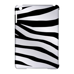 White Tiger Skin Apple iPad Mini Hardshell Case (Compatible with Smart Cover)