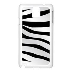 White Tiger Skin Samsung Galaxy Note 3 N9005 Case (White)