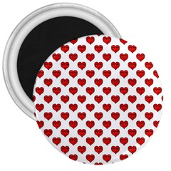 Emoji Heart Shape Drawing Pattern 3  Magnets