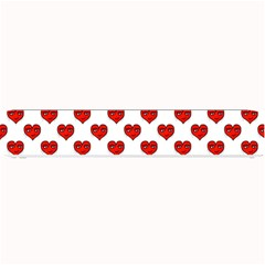 Emoji Heart Shape Drawing Pattern Small Bar Mats