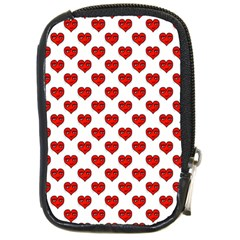 Emoji Heart Shape Drawing Pattern Compact Camera Cases