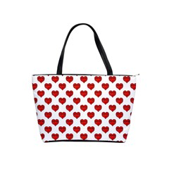 Emoji Heart Shape Drawing Pattern Shoulder Handbags