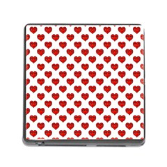 Emoji Heart Shape Drawing Pattern Memory Card Reader (Square)