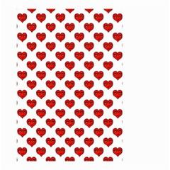 Emoji Heart Shape Drawing Pattern Small Garden Flag (Two Sides)