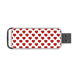 Emoji Heart Shape Drawing Pattern Portable USB Flash (Two Sides)