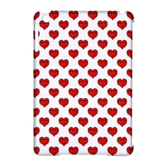 Emoji Heart Shape Drawing Pattern Apple iPad Mini Hardshell Case (Compatible with Smart Cover)