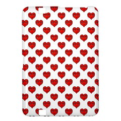 Emoji Heart Shape Drawing Pattern Kindle Fire HD 8.9