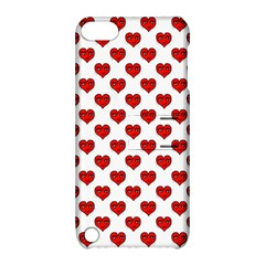 Emoji Heart Shape Drawing Pattern Apple iPod Touch 5 Hardshell Case with Stand